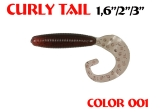 Силиконовые приманки Aiko Curly Tail