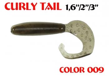 "силиконовая приманка Curly Tail 4""/100mm  цвет 009-Mustard PP  запах Fish  8.80g   (уп.-4шт.)"