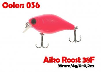 воблер ROOST crank 38F   036-цвет  38 мм.  3.7 гр.  заглубление 0-0.5m  плавающий