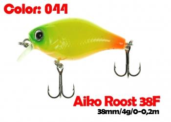 воблер ROOST crank 38F   044-цвет  38 мм.  3.7 гр.  заглубление 0-0.5m  плавающий