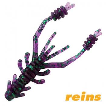 Силиконовая приманка Reins Ring Shrimp цвет 012 Junebug