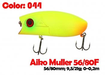 воблер MULLER  80F   044-цвет  80 мм.  21 гр.  заглубление 0-0.1m  плавающий