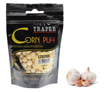 Кукуруза Trapper Puff Corn чеснок