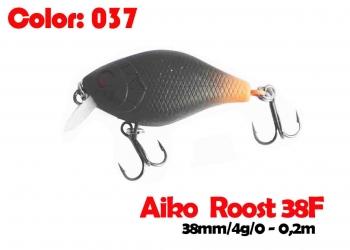 воблер ROOST crank 38F   037-цвет  38 мм.  3.7 гр.  заглубление 0-0.5m  плавающий