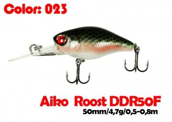 воблер ROOST crank DDR 50F   023-цвет  50 мм.  4.7 гр.  заглубление 0.5-0.8m  плавающий
