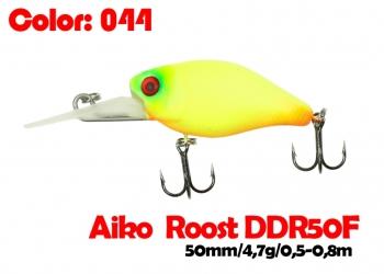 воблер ROOST crank DDR 50F   044-цвет  50 мм.  4.7 гр.  заглубление 0.5-0.8m  плавающий