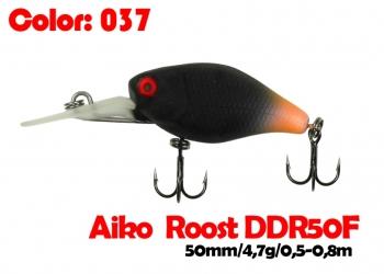 воблер ROOST crank DDR 50F   037-цвет  50 мм.  4.7 гр.  заглубление 0.5-0.8m  плавающий