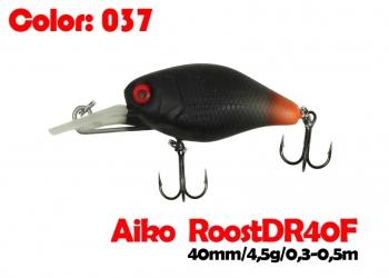 воблер ROOST crank DR 40F   037-цвет  40 мм.  4.5 гр.  заглубление 0.3-0.5m  плавающий