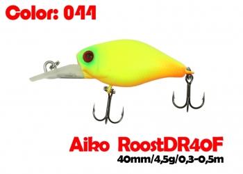 воблер ROOST crank DR 40F   044-цвет  40 мм.  4.5 гр.  заглубление 0.3-0.5m  плавающий