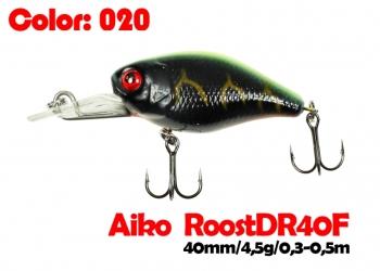 воблер ROOST crank DR 40F   020-цвет  40 мм.  4.5 гр.  заглубление 0.3-0.5m  плавающий
