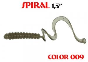 "силиконовая приманка Pure tail 1.6""/40mm  цвет 009-Mustard PP  запах Fish  0.57g  (уп.-12шт.)"