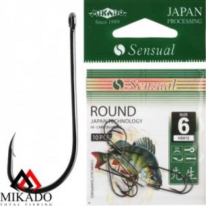 Крючки Mikado SENSUAL - ROUND W/RING (раунд с колечком)
