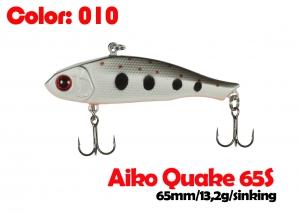 воблер QUAKE 65S   010-цвет  65mm  13.2g  тонущий
