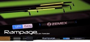 Удилище фидерное ZEMEX RAMPAGE River Feeder