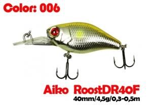 воблер ROOST crank DR 40F   006-цвет  40 мм.  4.5 гр.  заглубление 0.3-0.5m  плавающий