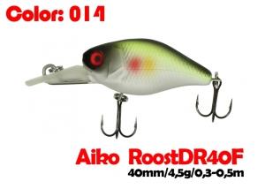 воблер ROOST crank DR 40F   014-цвет  40 мм.  4.5 гр.  заглубление 0.3-0.5m  плавающий