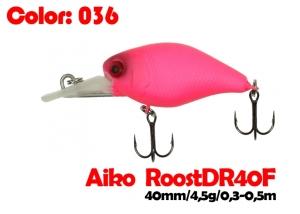 воблер ROOST crank DR 40F   036-цвет  40 мм.  4.5 гр.  заглубление 0.3-0.5m  плавающий