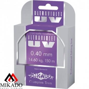 Леска Mikado Ultraviolet (Микадо ультравиолет) размотка 150 метров, цвет прозрачный