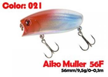 воблер MULLER  80F   021-цвет  80 мм.  21 гр.  заглубление 0-0.1m  плавающий