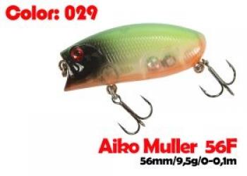 воблер MULLER  80F   029-цвет  80 мм.  21 гр.  заглубление 0-0.1m  плавающий